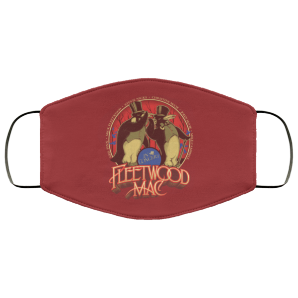 Fleetwood Mac Face Mask