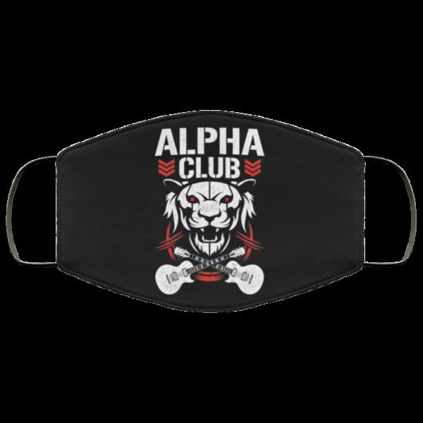 Chris Jericho alpha club Cloth Face Mask