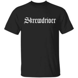 Skrewdriver t-shirt