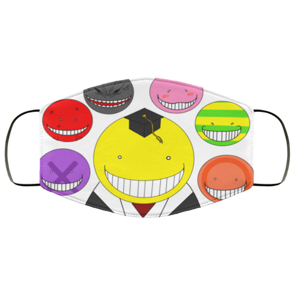 Koro-sensei Cloth Face Mask