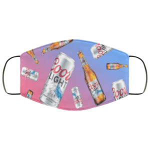 Coors Light Cloth Face Mask