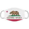 California Republic flag Cloth Face Mask