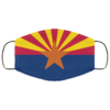 Flag of Arizona Cloth Face Mask