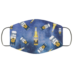 Corona Extra Beer Cloth Face Mask