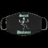 Social distance skeleton Cloth Face Mask