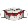 Joker mouth Cloth Face Mask