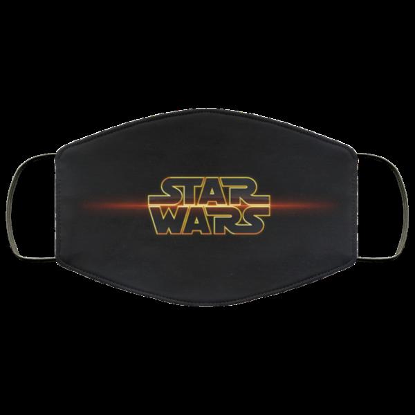 Star Wars Logo Face Mask