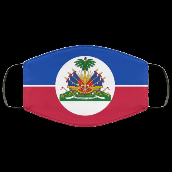 Haitian Flag Cloth Face Mask