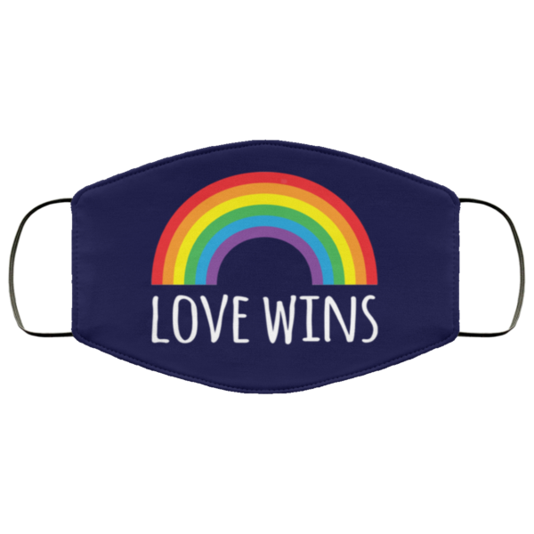 Love wins LGBT Cloth Face Mask