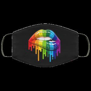 LGBT Lips Cloth Face Mask
