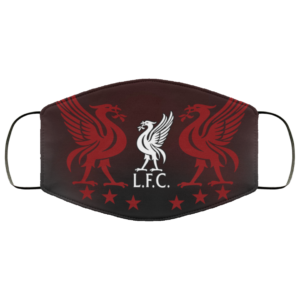 LFC Champions Liverpool Face Mask 1