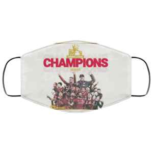 PREMIER LEAGUE CHAMPIONS 2020 Liverpool Face Mask 1