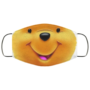 Winnie the Pooh quarantined Face Mask