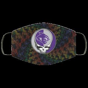 Abilene Christian Wildcats Grateful Dead Face Mask