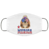 Shih Tzu Merica 4th Of July Patriotic Dogs Glasses Face Mask