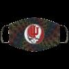 Indiana Hoosiers Grateful Dead Face Mask