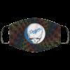 Los Angeles Dodgers The Grateful Dead Face Mask