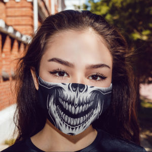 Halloween Scary Skull Skeleton Face Mask