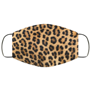 Leopard Face Mask Leopard Print Face Mask