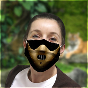 Hannibal Lecter Face Mask Halloween Funny Face Mask