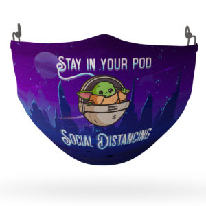 Stay in You Pod Social Distancing Face Mask Reusable