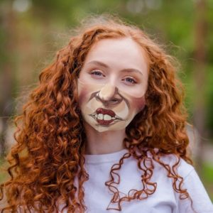 Winifred Mouth Hocus Pocus Face Mask