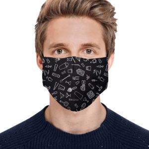 Bartender Equipment Face Mask