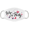Bride And Groom Face Mask Wife Of The Party Possible Face Mask