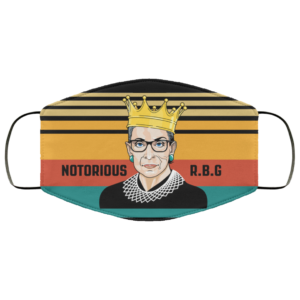 Notorious RBG Face Mask Feminist Facemask