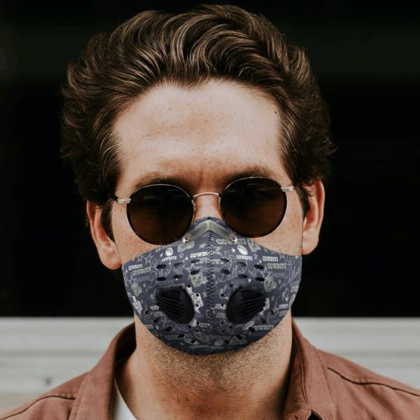 Dallas Cowboys Sport Mask Filter PM2 5