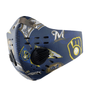 Milwaukee Brewers Sport Mask Filter PM2 5