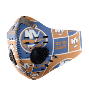 New York Islanders Sport Mask Activated Carbon Filter PM2 5