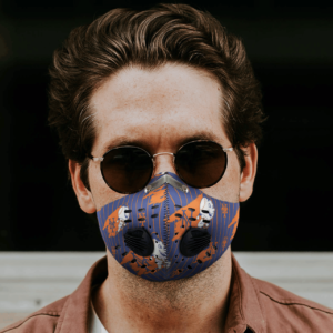 New York Mets Sport Mask Activated Carbon Filter PM2 5