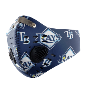 Tampa Bay Devil Rays Sport Mask Activated Carbon Filter PM2 5