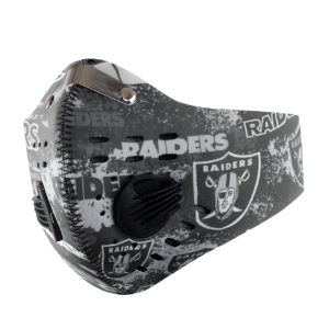 Oakland Raiders Sport Mask Activated Carbon Filter PM2 5