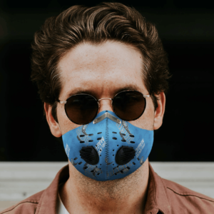 Orlando Magic Sport Mask Activated Carbon Filter PM2 5