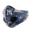 New York Yankees Sport Mask Activated Carbon Filter PM2 5