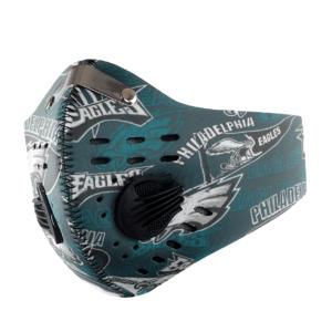 Philadelphia Eagles Sport Mask Activated Carbon Filter PM2 5