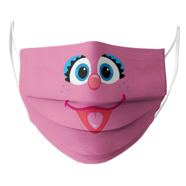 Sesame Street Abby Face Face Mask