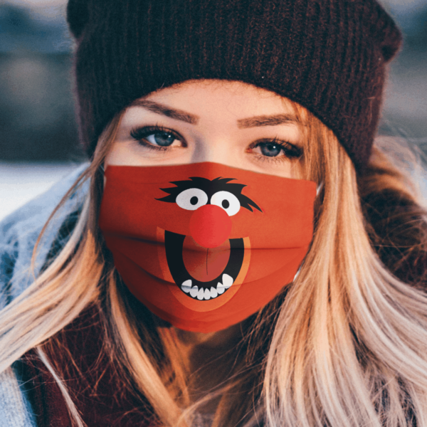 Sesame Street Animal The Muppets Face Face Mask
