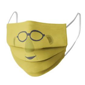 Sesame Street Dr Bunsen Honeydew Face Mask