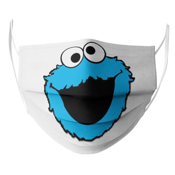 Sesame Street Cookie Monster Face Face Mask