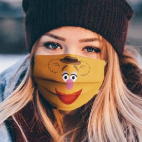 Sesame Street Fozzie Bear Face Mask