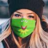 Sesame Street Kermit The Frog Face Mask