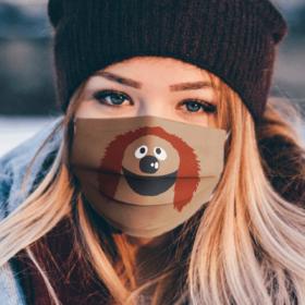 Sesame Street Rowlf the dog Face Mask