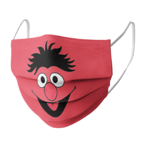 Sesame Street Ernie Face Face Mask