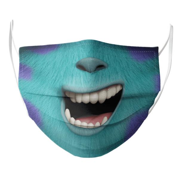 Sesame Street Sulley Monster Face Mask