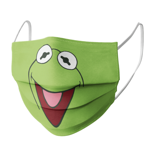Sesame Street Green Face Mask