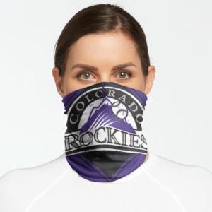 Colorado Rockies Bandana Gaiter Scraft C004