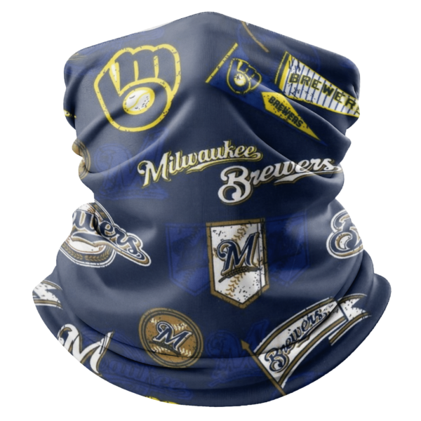 Milwaukee Brewers Bandana Gaiter Scraft M003